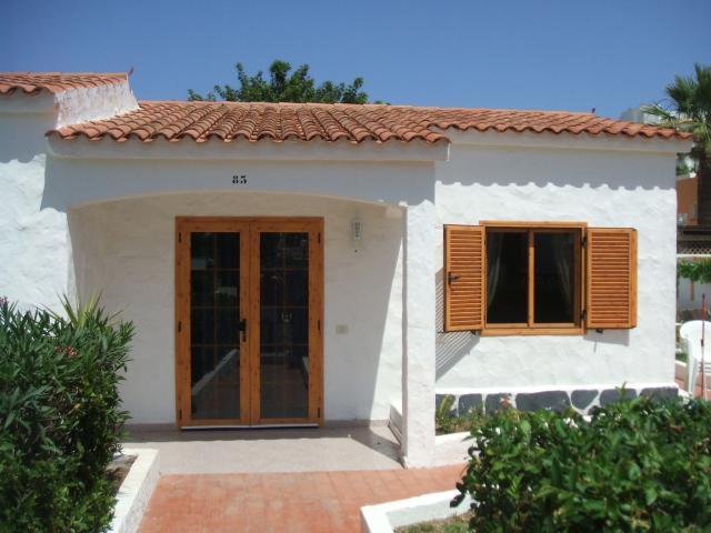 Front of bungalow - Number 83 Los Arcos, Playa del Ingles, Gran Canaria